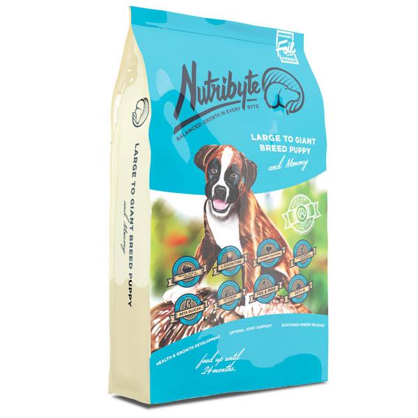 Nutribyte Dog Puppy Large to Giant 20 kg