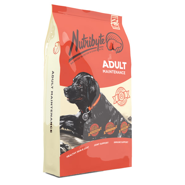 Nutribyte Dog Adult Maintenance 40 kg