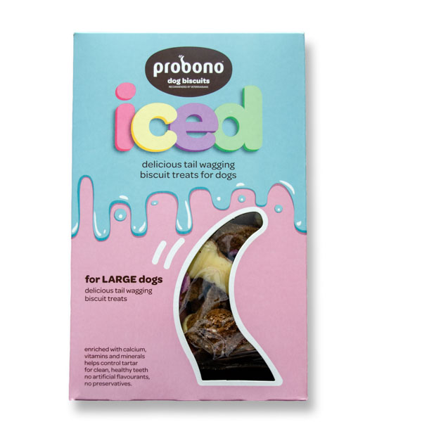 Probono Biscuit Iced Large Dog 1 kg