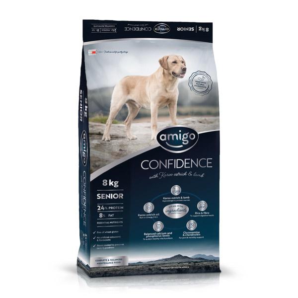 Amigo Dogfood Confidence Senior Large 20 kg