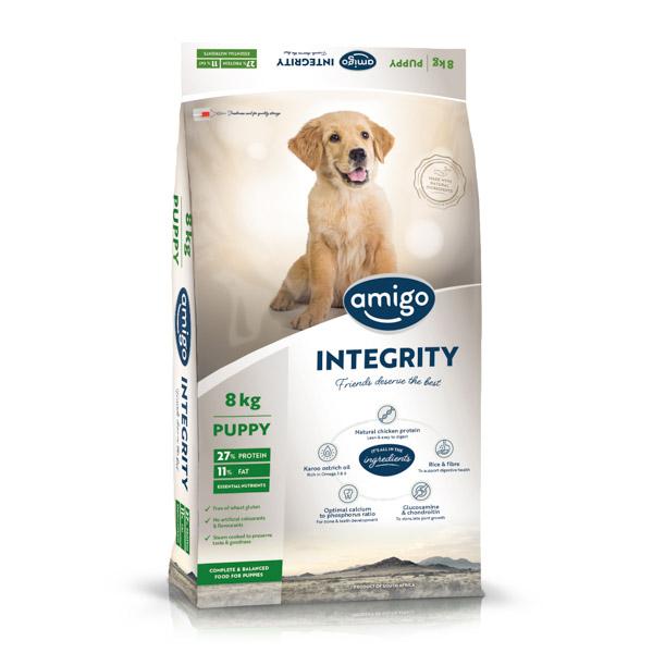 Amigo Dogfood Integrity Puppy 8 kg