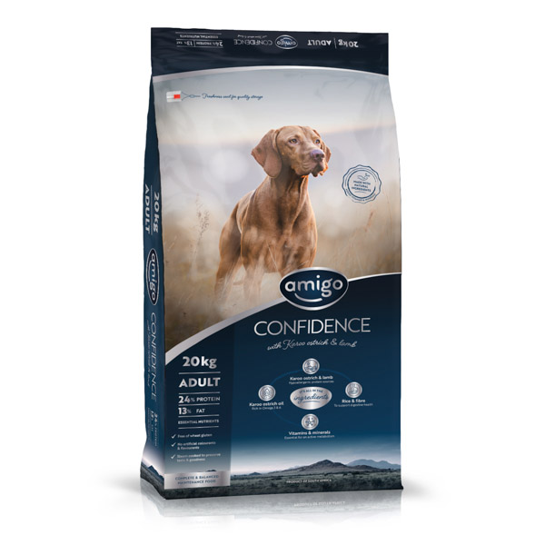 Amigo Dogfood Confidence Adult Small 20 kg