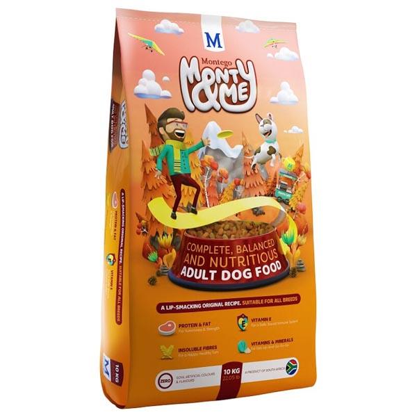 Montego – Monty & Me Adult Dog Food 10kg