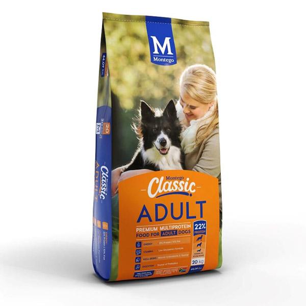 Montego Classic Adult Dog Food 20kg