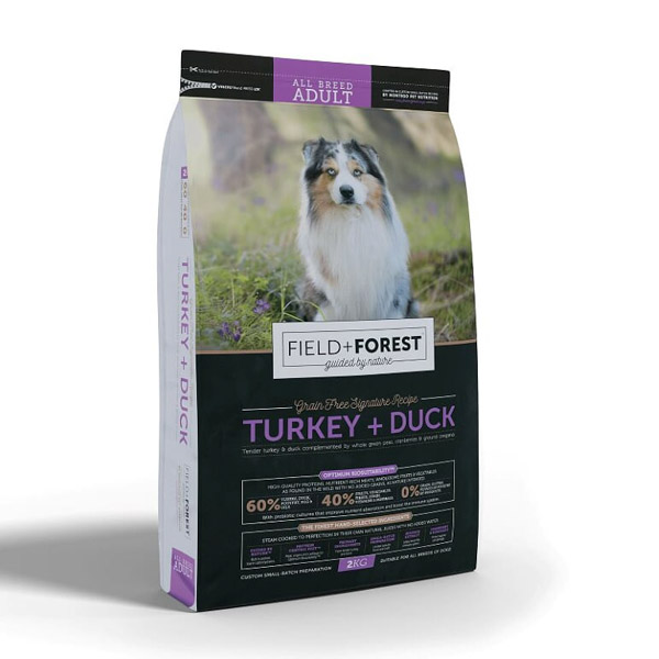 Montego – Field + Forest Turkey and Duck Adult Dog Food 2kg