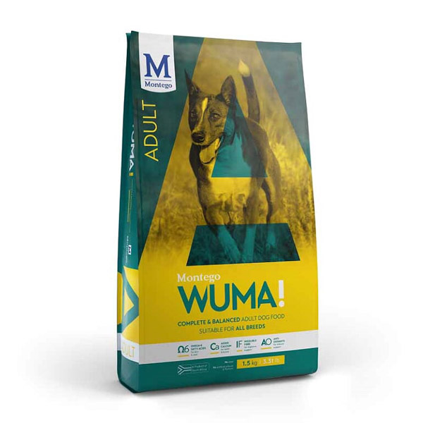 Montego – Wuma Adult Dog Food 20kg